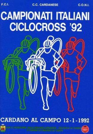 depliant 1992 cross
